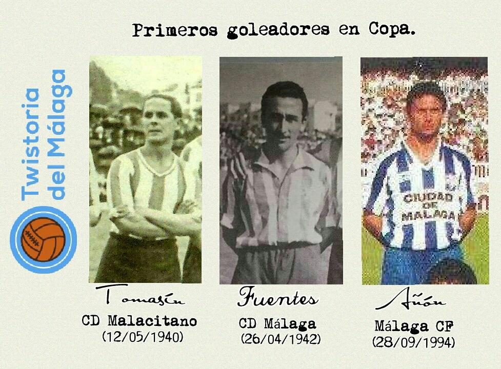 Primeros goleadores en Copa.
