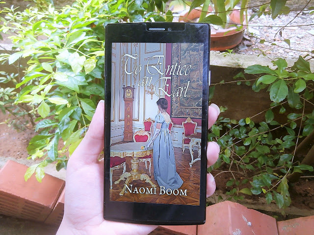 To Entice an Earl by Naomi Boom (#BookReview & Tour)