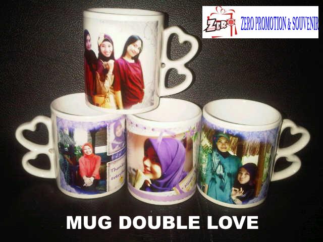 Mug Gagang Double Love,  Mug Gagang Love II, mug gagang dua hati, mug unik, mug aneh, mug lucu, mug keren, mug cinta
