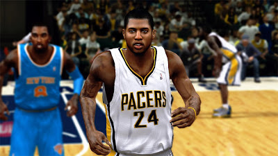 NBA 2K13 Paul George Pacers vs Knicks Playoffs Patch
