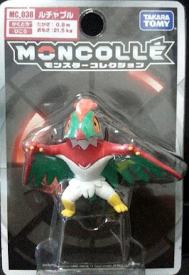 Hawlucha figure Takara Tomy Monster Collection MONCOLLE MC series