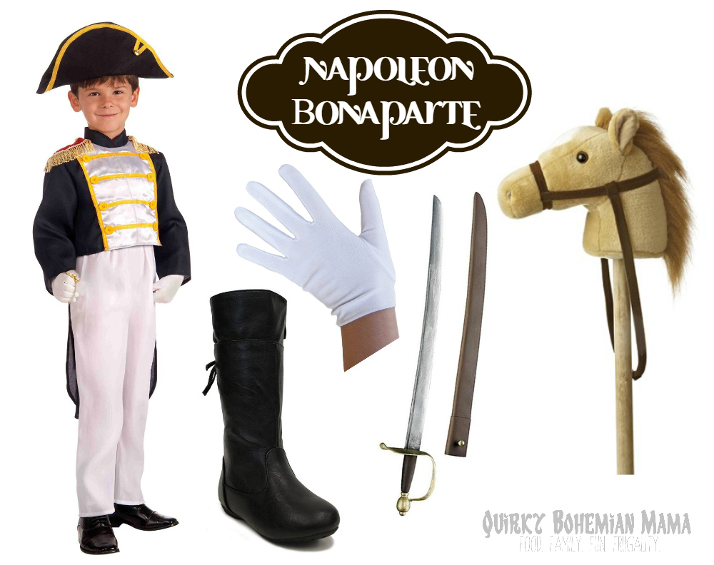 Costume Sword Boots White Gloves Stick Horse  sc 1 st  Quirky Bohemian Mama & 10 Unique Historical Halloween Costumes for Boys