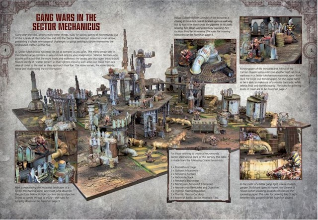 Previewing the Rules for Playing Necromunda in 3D. Gang War