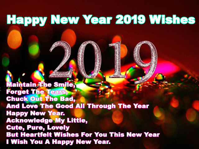 Happy New Year 2019 Wishes Quotes