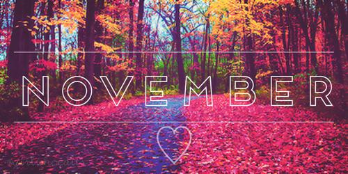 november themes month