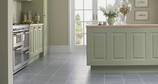 cucina con bel pavimento immagine