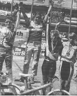 Kathleen 1990 National Slalom Winner