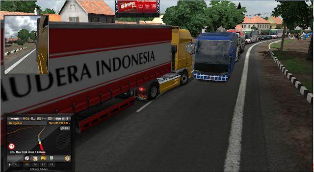 Cara Pasang Mod Map Sukabumi ICRF Game ETS2 Versi 1.23