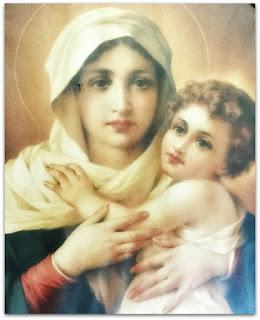 Imagem da Mãe Rainha e Vencedora Três Vezes Admirável de Schoenstatt - Faxinal do Soturno (RS)