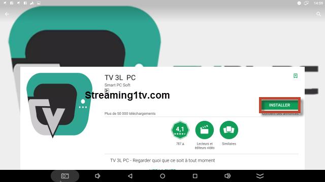 تطبيق TV 3L PC لمشاهدة التلفزيون على جميع أجهزة اندرويد Tv