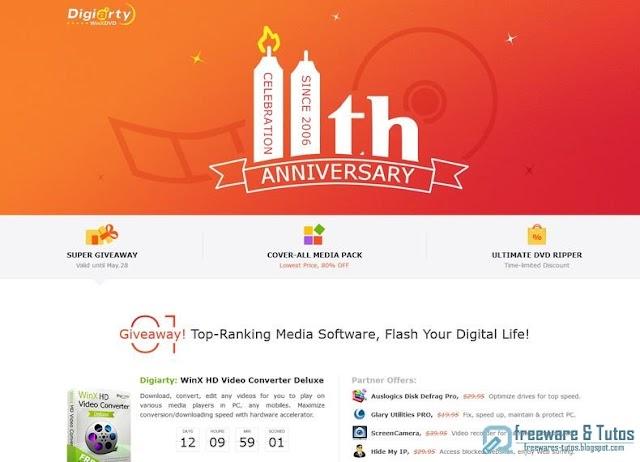 Offre promotionnelle : 5 logiciels commerciaux gratuits !