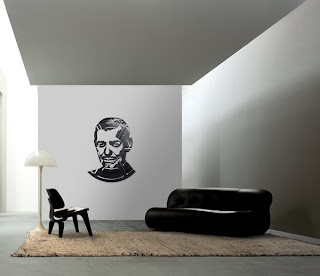 Decoración creativa para la pared con vinil