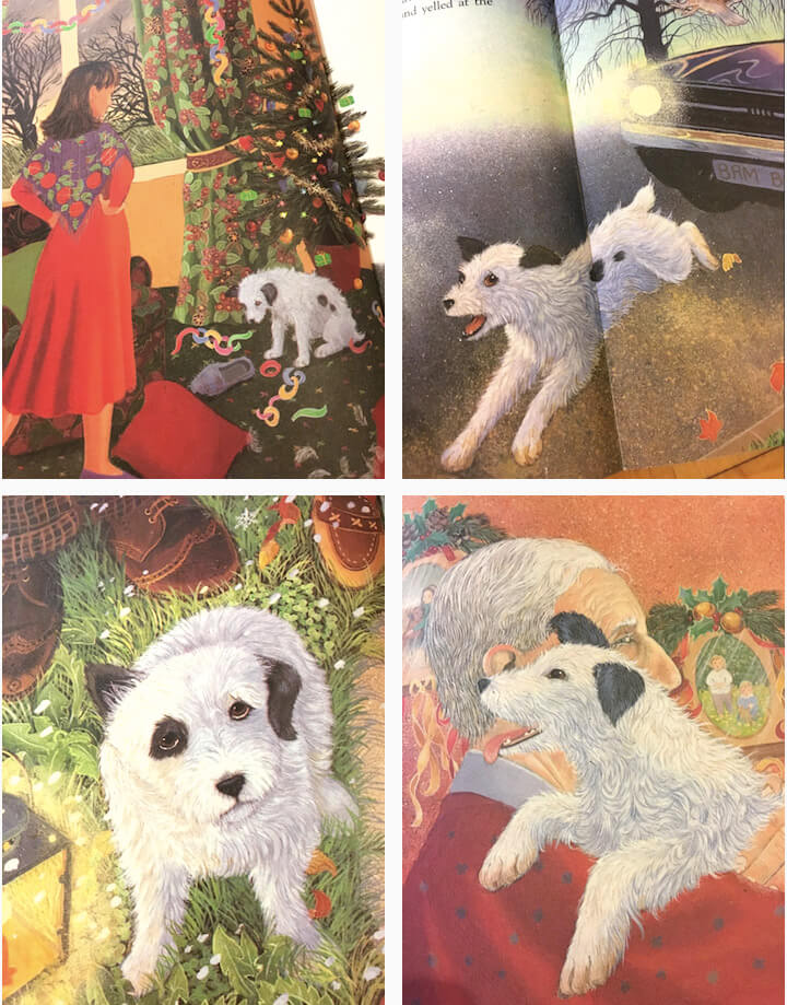 The Dog Who Found Christmas Book Review with related activities