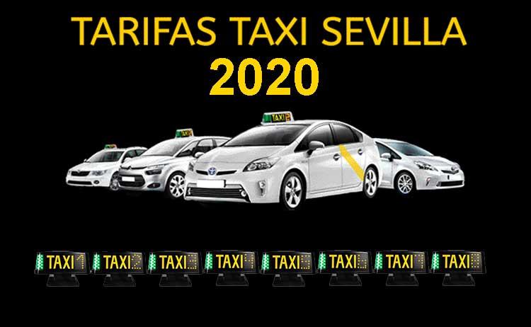 tarifas taxi sevilla 2020