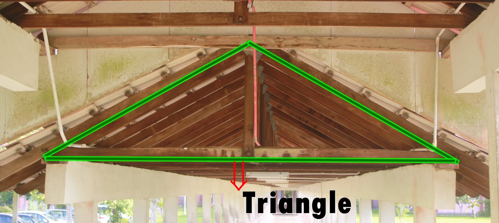 THINGS AROUND US: Triangle around us