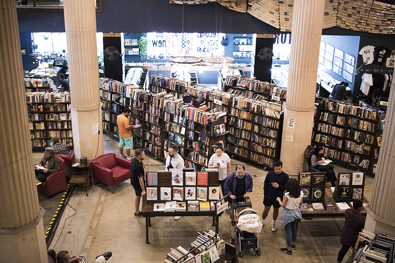 The Last Bookstore, Lumière & Lens