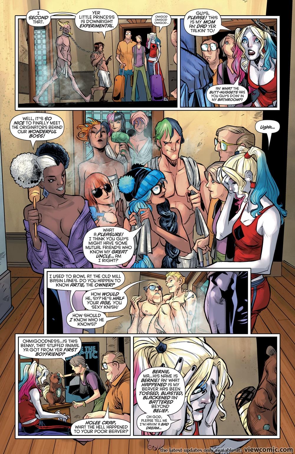 Harley Quinn v3 022 (2017)  | Vietcomic.net reading comics online for free