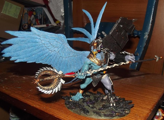 What's On Your Table: Biomechanical Lord of Change