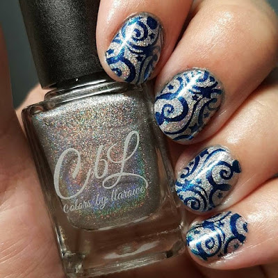 diamonds, holo, sparkling diamonds, stamping polish