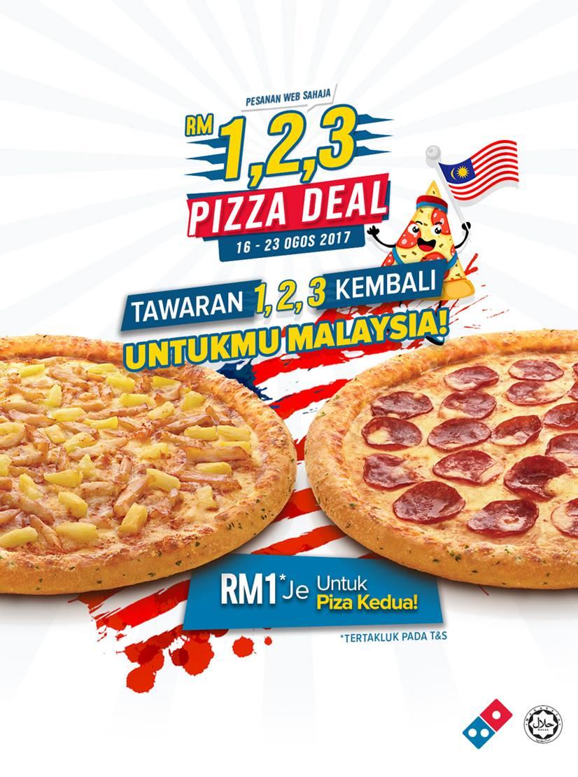 Dominos pizza online order - Domino S Pizza Deal Malaysia Promo
