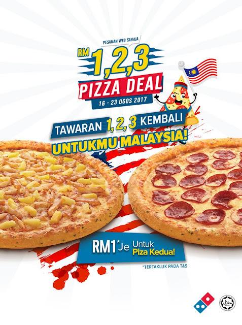 Domino's Pizza Deal Malaysia Promo