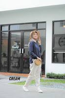 ANDHIMIND Celana Panjang Erin Chino Pants Cream