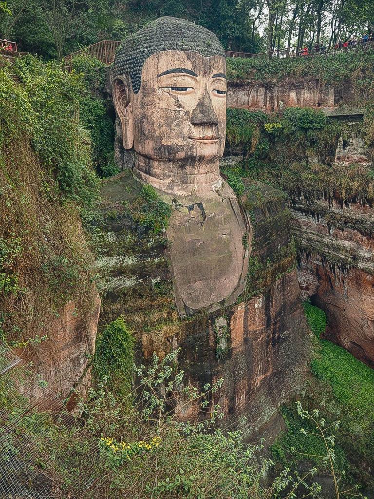Giant Buddha of Leshan, China