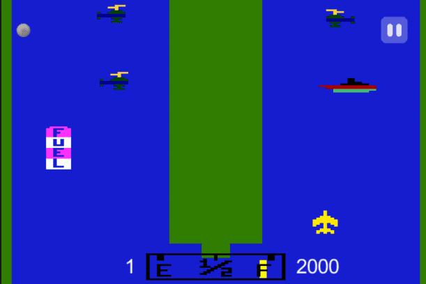 لعبة طيارات الاتارى