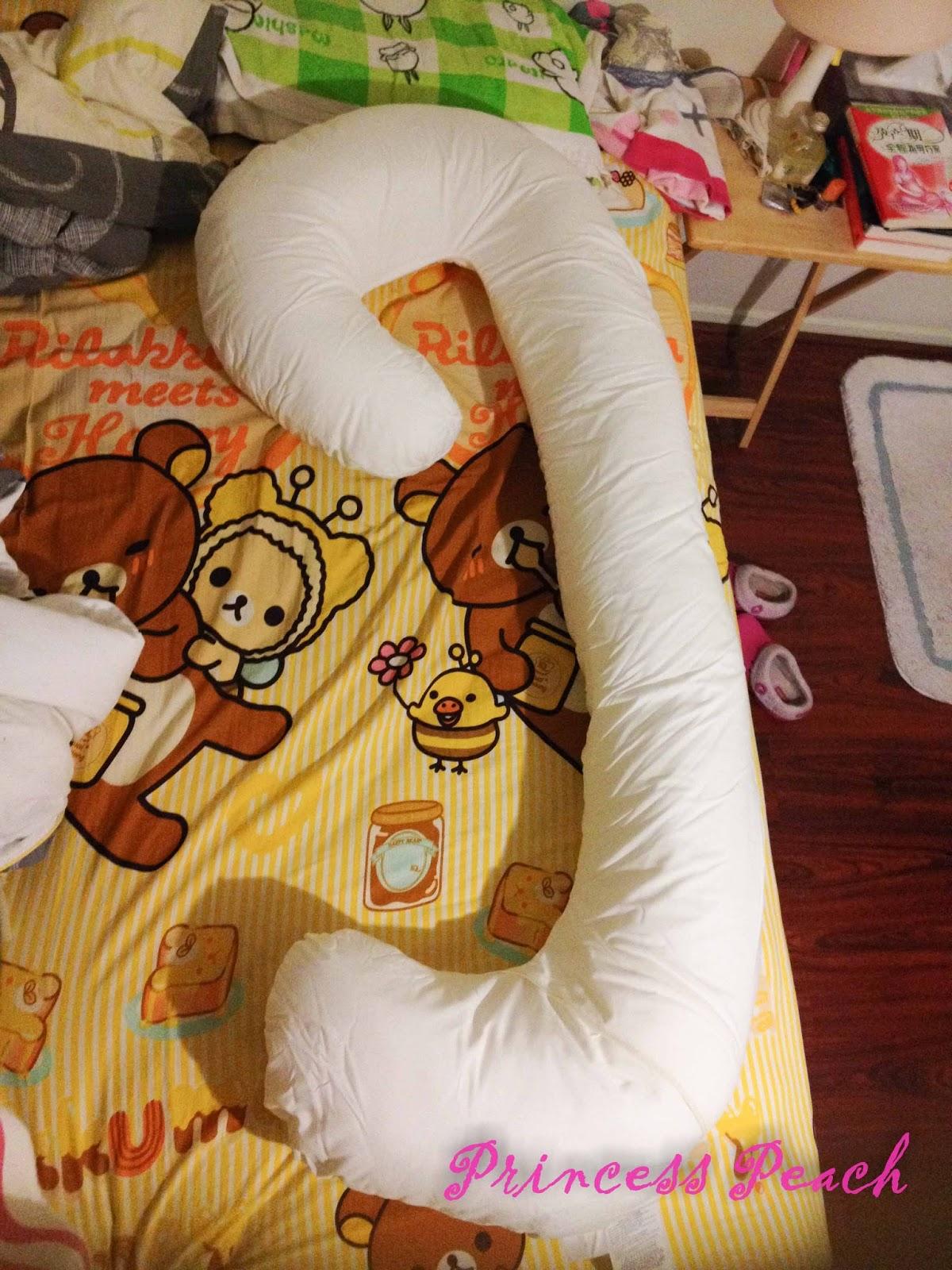 [開箱] 超值又奢華的 Snoogle 孕婦抱枕~!!