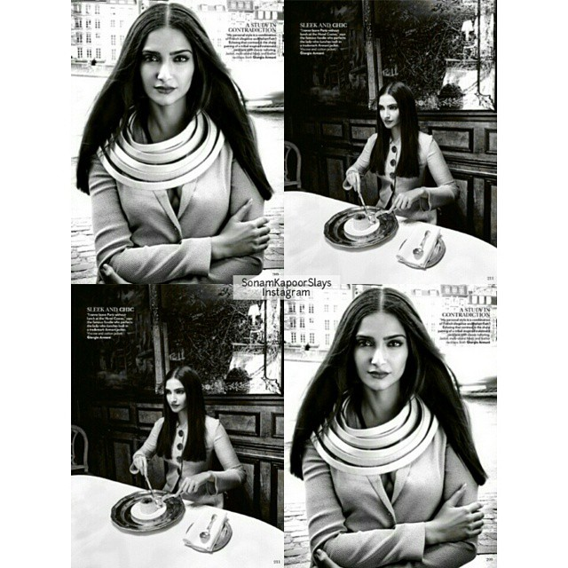 inside pics of the latest issue of vogue! 💜 she is looking so stunning, i cant even deal😭 - prab sonam kapoor , vogue india , vogue ,, Sonam Kapoor Vogue Magazine Bold Scans April 2015 Issue