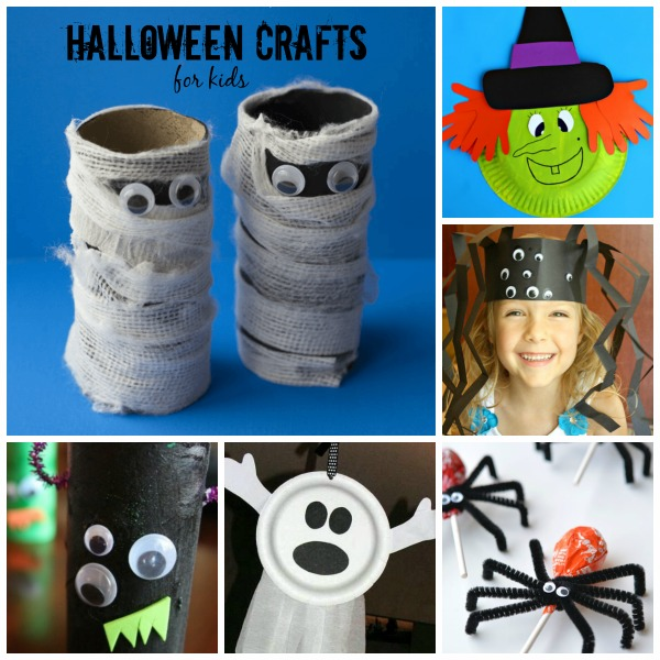 24 EASY FRIGHTFULLY ADORABLE HALLOWEEN CRAFTS FOR KIDS