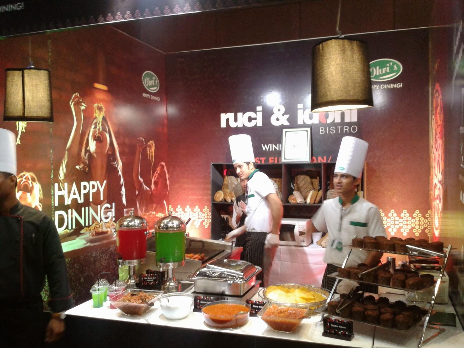 Hyderabad Times Food award Ruci and Idoni