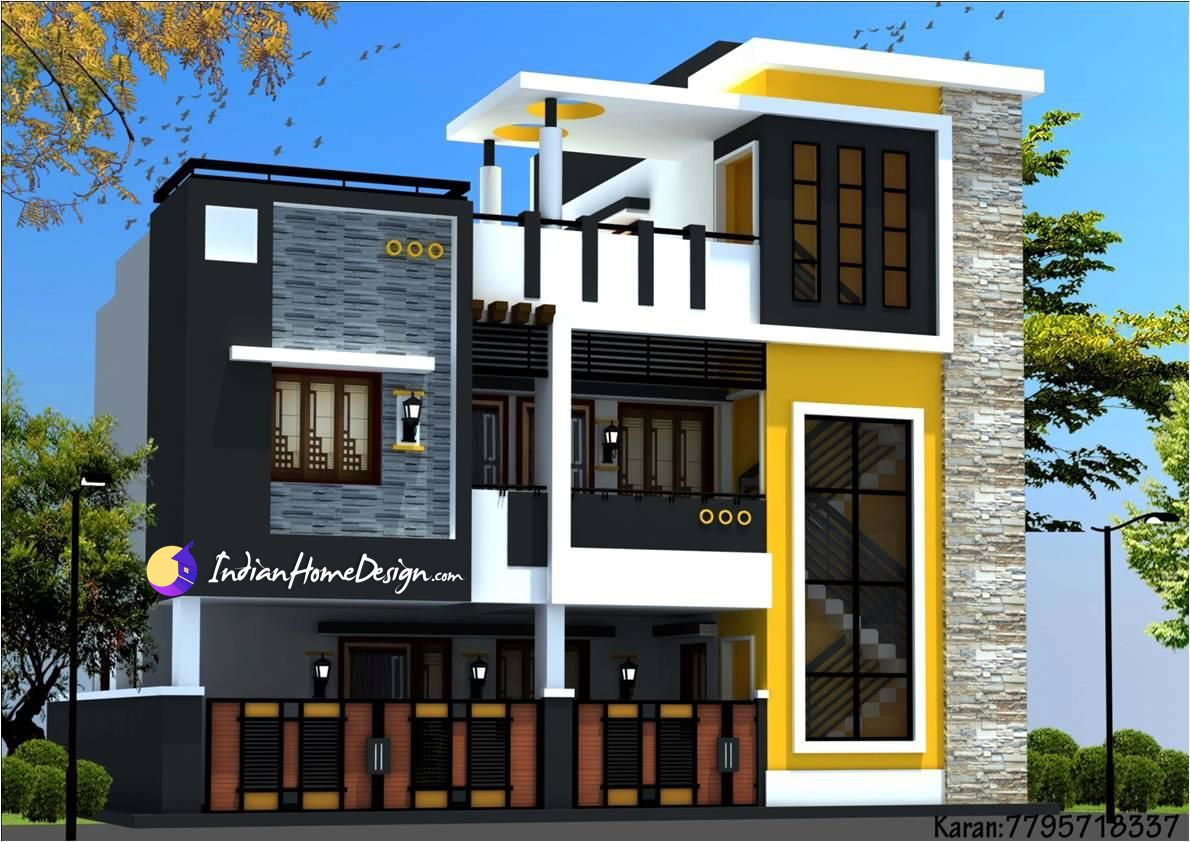 Modern Contemporary Style Two Floor Chennai Home Design by Ns ...