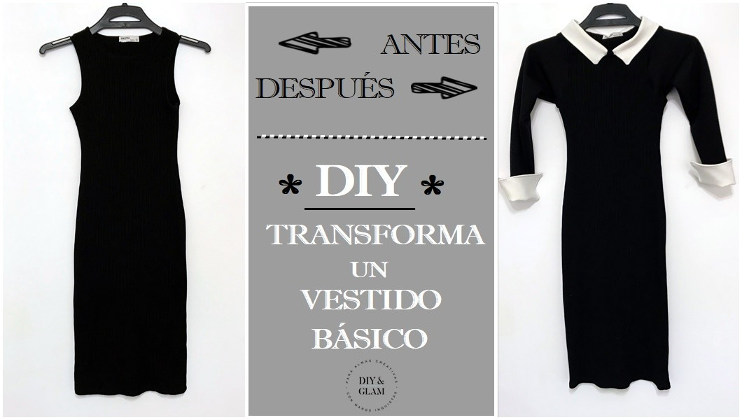 Transforma Negro Básico Un Vestido Glam LbdDiyamp; PkOZiTXu