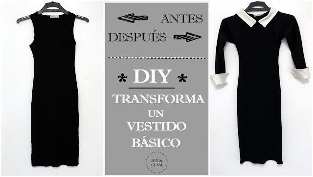 Transforma un vestido negro básico LBD