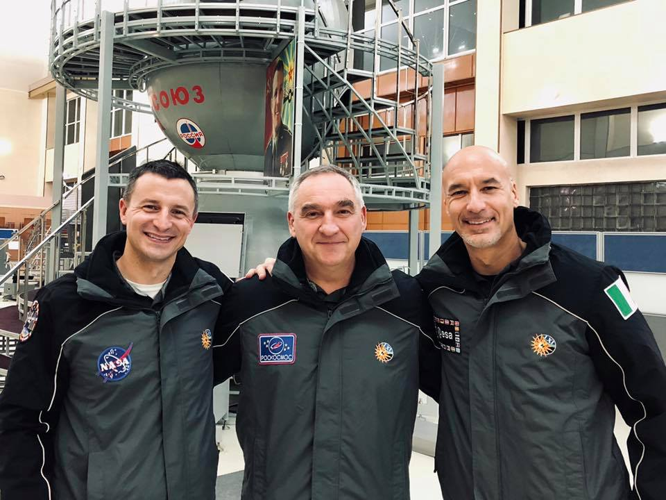 On July 20th – the 50th anniversary of the Apollo 11 launch -- U.S. astronaut Army Col. (Dr.) Andrew Morgan, along with Roscosmos cosmonaut Alexander Skvortsov, and Italian astronaut Luca Parmitano, will launch to the International Space Station. (Photo courtesy of @astrodrewmorgan Facebook)