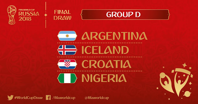 World cup 2018: Group D review Nigeria Argentina Iceland Croatia