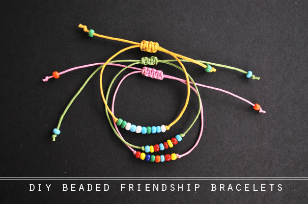 The Diy Beaded Friendship Bracelets