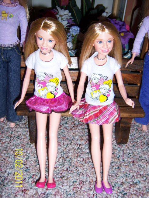 My Barbie World Olsen Twins