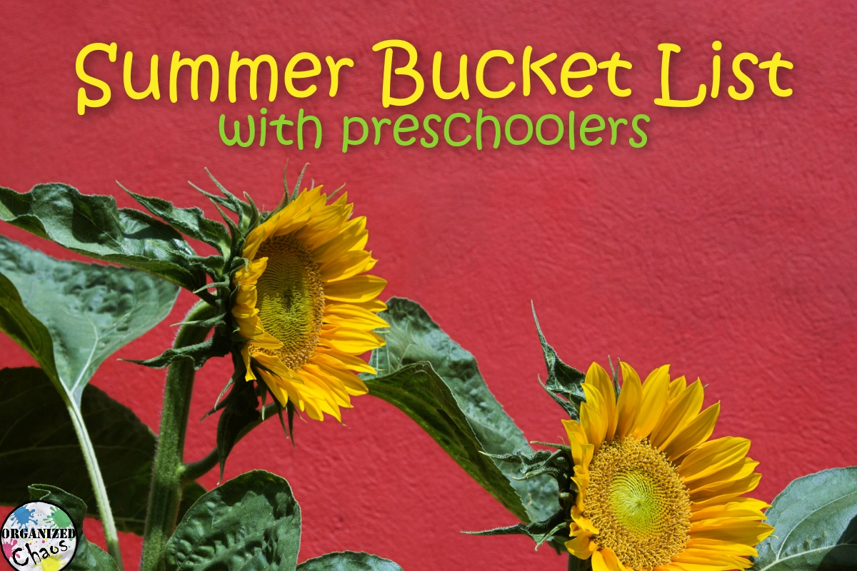 Mommy Monday Summer Bucket List With Preschoolers