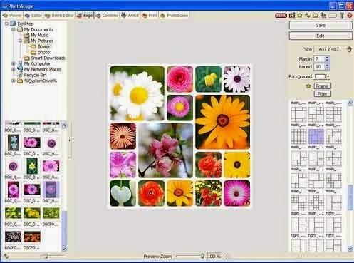 تحميل برنامج تحرير وتعديل الصور photoscape 3.7 مجانا للكمبيوتر