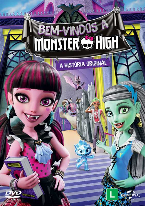 Monster High: Bem Vindo À Monster High Torrent – BluRay 720p e 1080p Dual Áudio (2016)