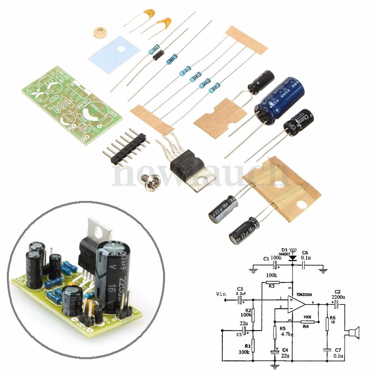 Audio Power Amplifier With Lm4651 Lm4652 170w Circuit Diagram
