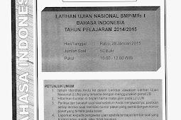 SOAL TPM BAHASA INDONESIA KABUPATEN SLEMAN 2015 (Paket 21-25)