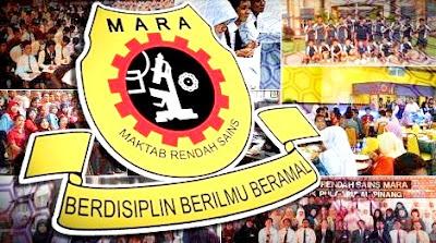 Permohonan MRSM Tingkatan 4 Tahun 2019 Maktab Rendah Sains MARA