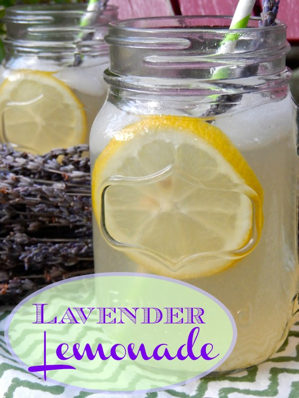 Lavender Lemonade: Just a hint of lavender flavor makes this so much better than plain old  lemonade. Just squeeze, steep and stir!  Ms Toody Goo Shoes