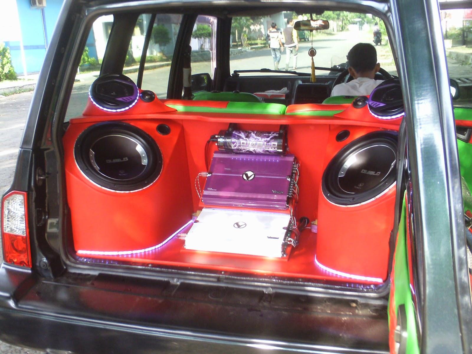 Top Modifikasi Mobil Sedan Audio Sobat Modifikasi