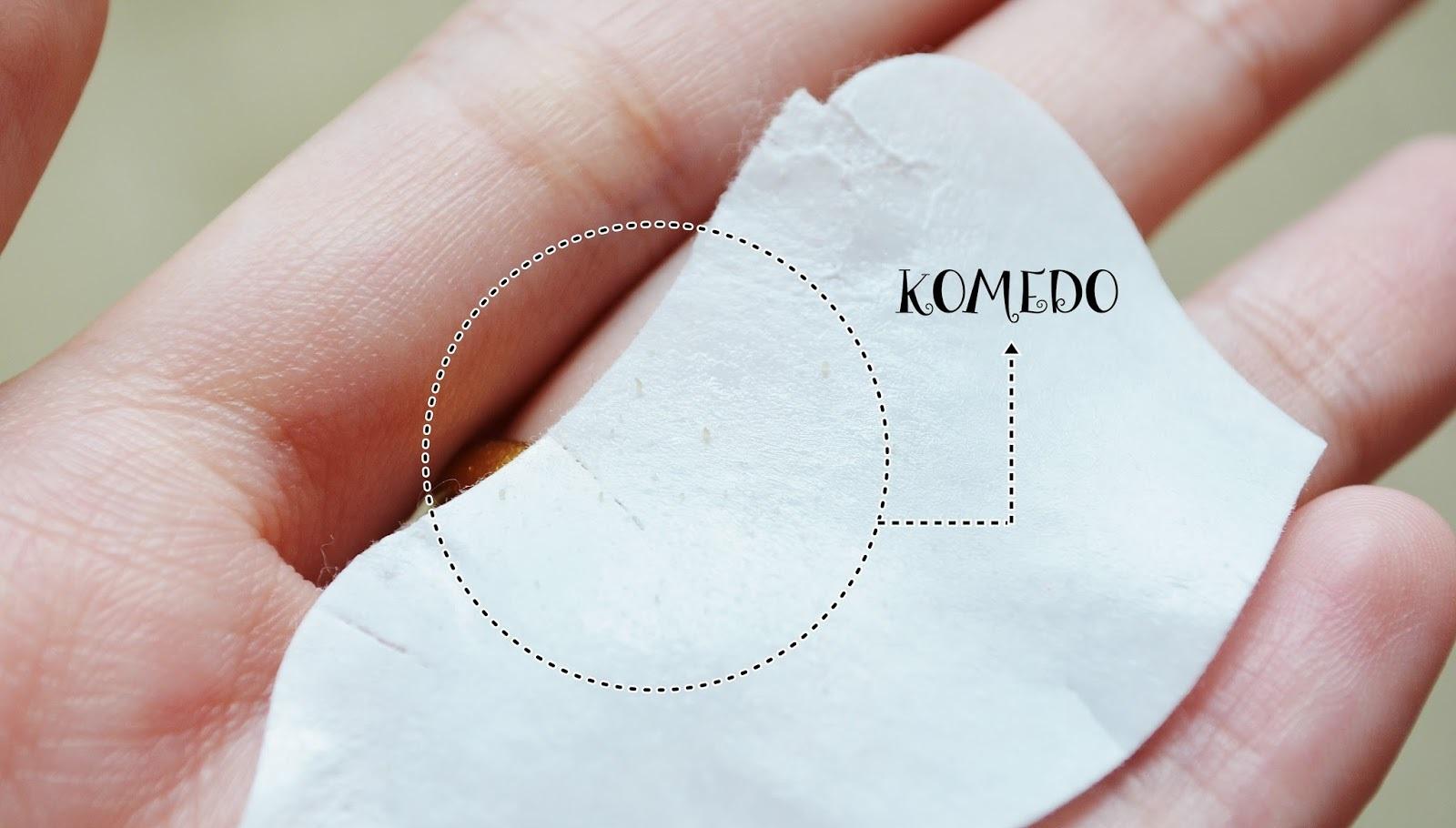 Alat Untuk Mengangkat Komedo Menggunakan Pore Pack