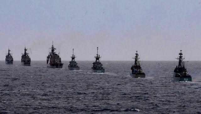 ΕΚΤΑΚΤΟ: Απλώνεται ο ελληνικός Στόλος γύρω από το Καστελόριζο - Ισχυρός «δακτύλιος» προστασίας στο νησί