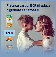regulament castigatori concurs Plata cu Cardul BCR iti aduce o gustare sanatoasa la HELP NET